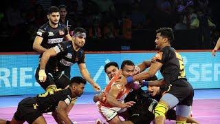 Pro Kabaddi 2018 Highlights | Puneri Paltan vs Telugu Titans | Hindi