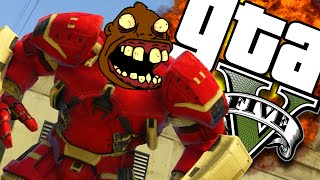 GTA V PC - Chegou o Hulk Buster Zoeiro (MOD) thumbnail