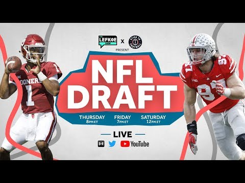 2019 NFL Draft Show: Live Grades & Reactions For EVERY Round 1 Pick