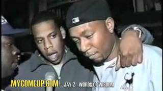 Jay - z - Words of Wisdom (DECODED IN STORES NOW)