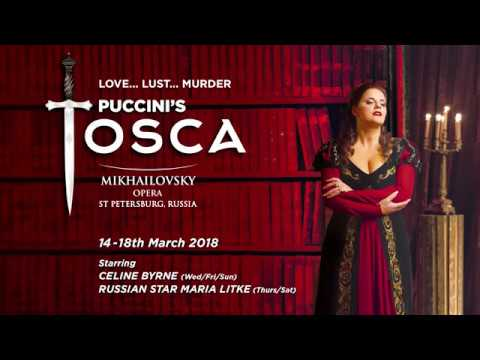 Puccini's TOSCA 14 - 18th March 2018 - Ballet And Opera Ireland
