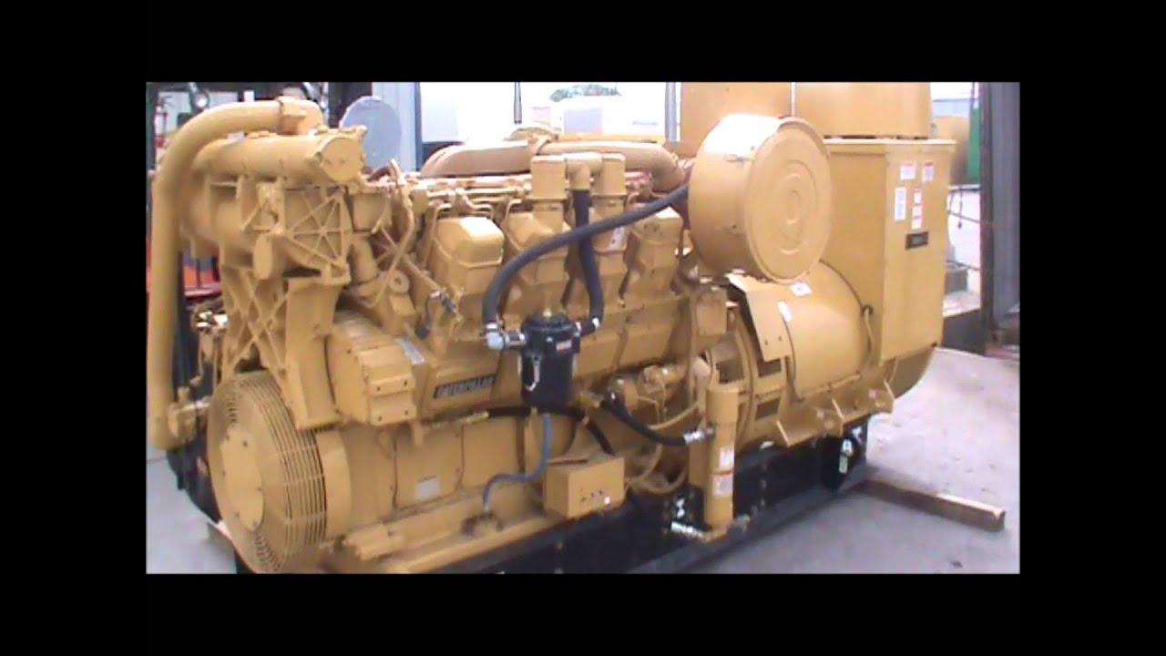 Caterpillar 3508 Dita 900kw 208v Open Diesel Generator