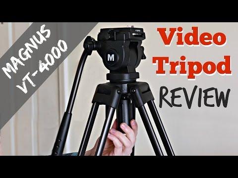 Best Budget Tripod for Video: Magnus VT-4000 Review