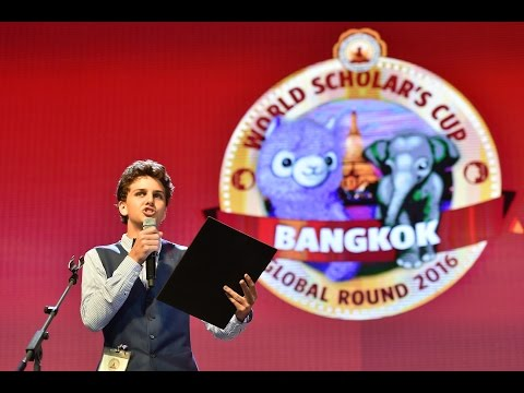 World Scholar's Cup Global Round 2016: Sr. Debate Showcase