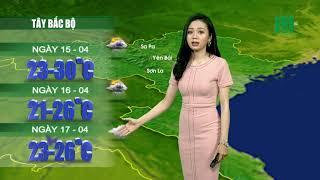 VTC14 | Thời tiết 12h 14/04/2018 | Bắc bộ mưa lạnh từ chiều tối nay