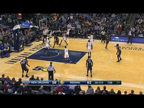 New Orleans Pelicans at Indiana Pacers - January 16, 2017