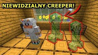 Minecraft Jedno Życie- NIEWIDZIALNE CREEPERY!!!! UWAGA WYSADZIŁY MNIE!!!