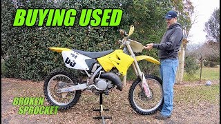 What to look for when buying a used dirt bike