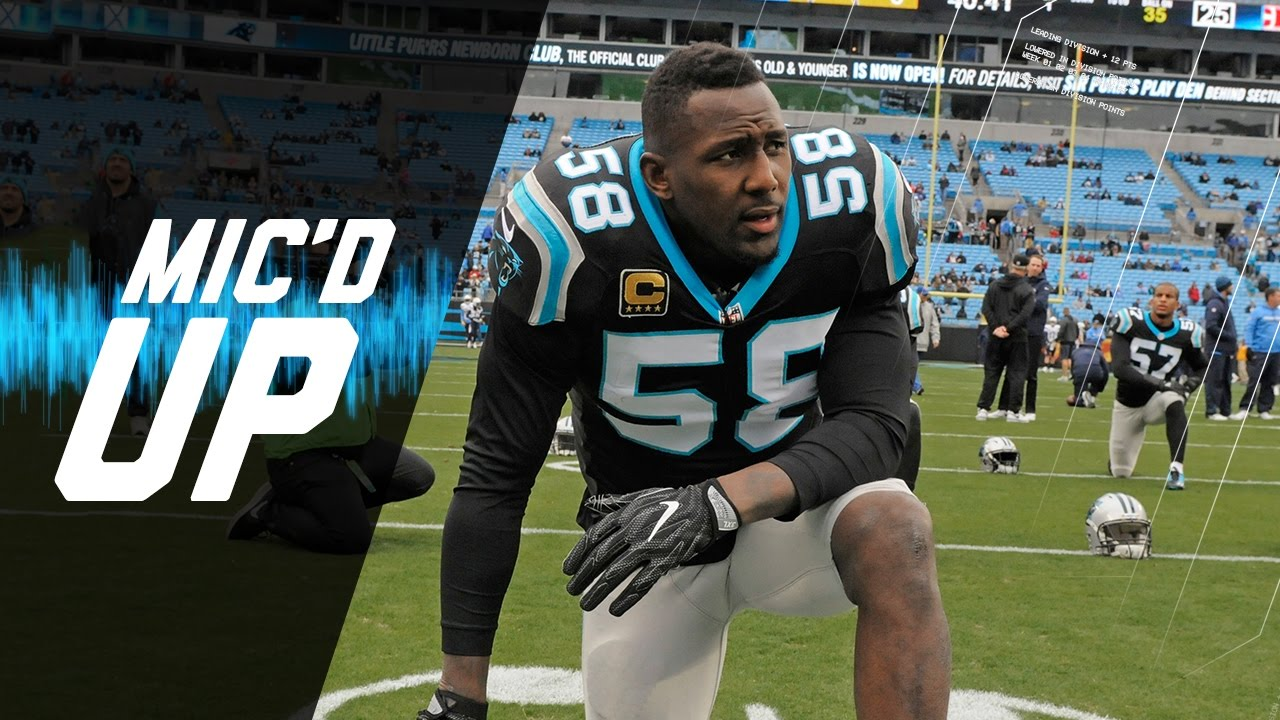 "Thomas Davis Mic d Up in Week 14 Win vs Chargers ""Can we a"