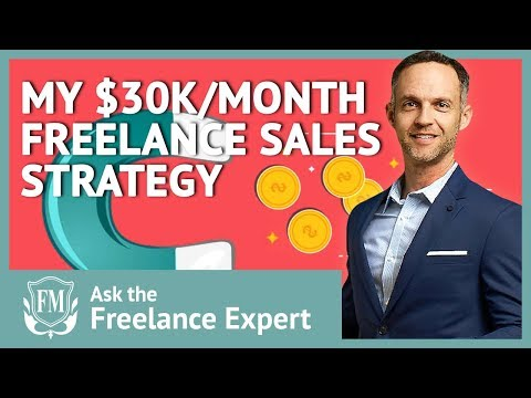 😁My $30K/month Freelance Sales And Lead Generation Strategy | Get Freelance Clients😁