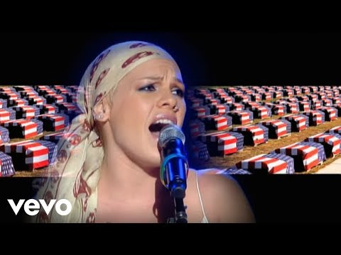 P!nk - Dear Mr. President (Live From Wembley Arena, London, England (Mobile Video))
