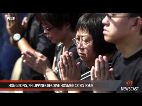 Hong Kong, Philippines resolve hostage crisis issue