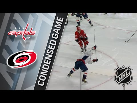 01/12/18 Condensed Game: Capitals @ Hurricanes