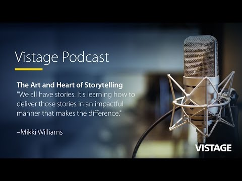 The Art and Heart of Storytelling [Video Podcast]