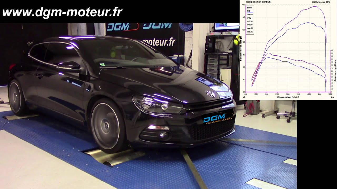 reprogrammation volkswagen scirocco 2 0l tdi 140ch dijon gestion moteur youtube. Black Bedroom Furniture Sets. Home Design Ideas