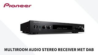 Multiroom Audio Stereo Receiver met DAB | SX-S30DAB van Pioneer