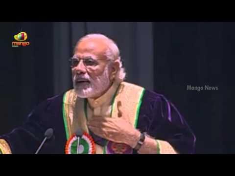 PM Modi Address the Students at 5th Convocation of Shri Mata Vaishno Devi University in J&K