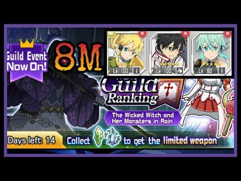 SAO MD [RANK] : The Wicked Witch (M+1, Sword Crit) SOLO 8M