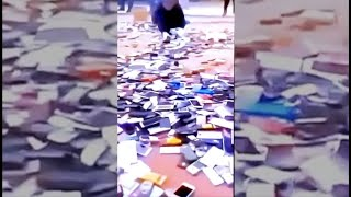 21 M cell phone users disappeared in CHINA.