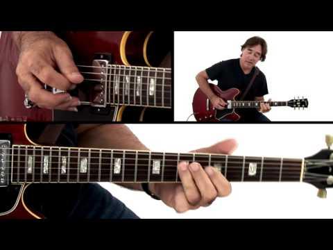 Jazz Rock Guitar Lesson - C minor 6/8 Vamp: 2 Performance - Carl Verheyen