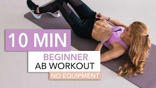 10 MIN BEGINNER AB WORKOUT // No Equipment | Pamela Reif screenshot 2