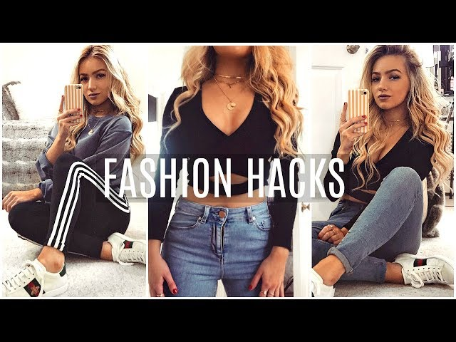 FASHION HACKS TO MAKE YOUR CLOTHES FIT PERFECTLY