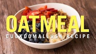 Cuckoo Rice Cooker Recipe: Oatmeal
