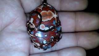 Sexual solar energy- Poppy Seed Jasper