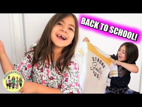 BACK TO SCHOOL SHOPPING for a SECOND GRADE GIRL | KIDS BACK TO SCHOOL CLOTHING HAUL