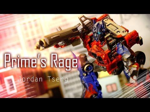 Transformers 4 stop motion : Prime's Rage 柯博文的憤怒