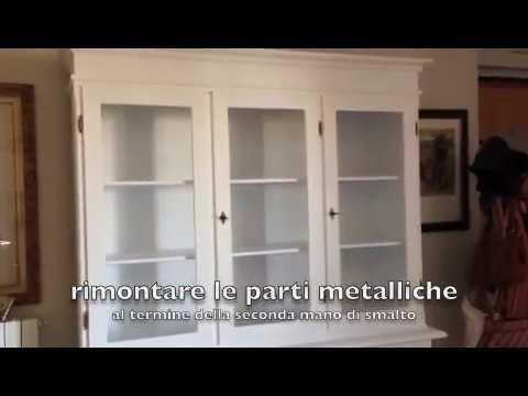 Idee Per Dipingere Vecchi Mobili.Come Laccare Un Mobile In Casa Youtube