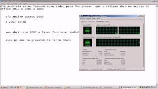 teste access 2003 x access 2007  HGF