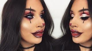 Glamorous Halloween Clown | Creepy Makeup Tutorial