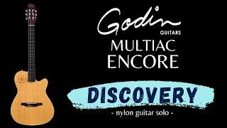 DISCOVERY - Godin Multiac Encore - nylon guitar - dadgad - Sergio Arturo Calonego [test ZoomH5]