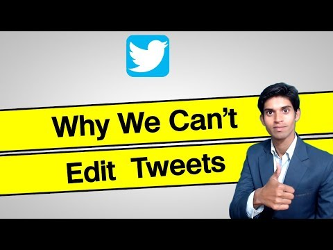 Why We Can't Edit Tweets ? Know This Facts of Twitter