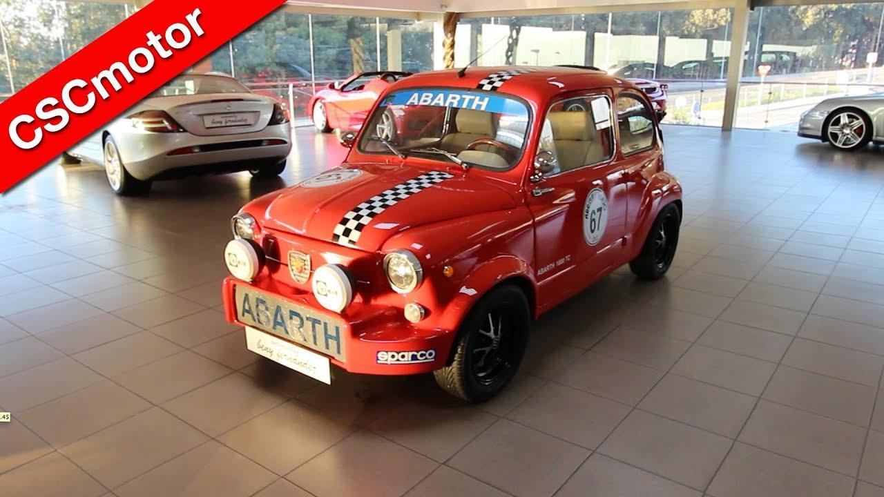 Fiat Abarth 1000 Tc 1967 Revisi 243 N En Profundidad Y