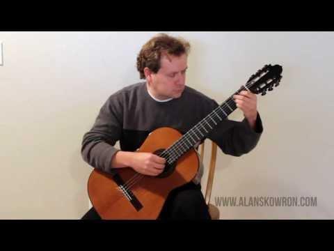 Alan Skowron performs Lagrima by Francisco Tarrega