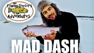 Jaw Jacker Mad Dash Rainbow Trout Fishing