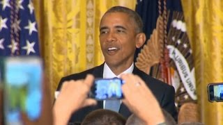 """Obama To Activist: """"This Is My House"""""""