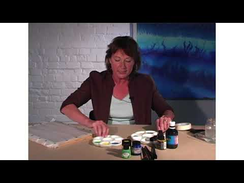 Learn To Silk Paint -- Dyes, Paints, Frames, And Silks