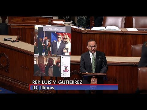 Gutiérrez Raises Questions about $300 Million Whitefish Energy Deal