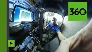 L'espace à 360 degrés : Le réveil sur l'ISS