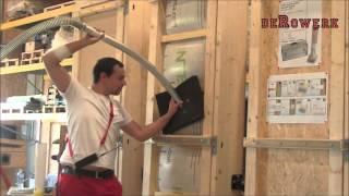 Igła do wdmuchiwania izolacji termicznej: docieplanie dachów i ścian