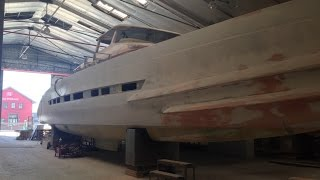 Building the second Open Ocean 750 Expedition Catamaran 25 August 2014