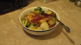 Potato Broccoli and Bacon Casserole