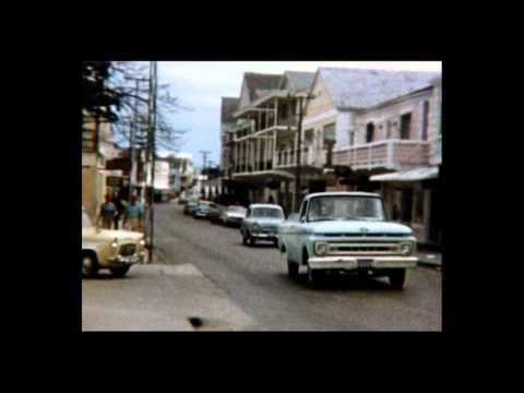 Nassau, Bahamas - 1970's 8mm footage airborne and city centre