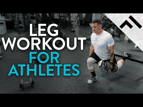 Full Leg Workout for Athletes | Day from the Athlete Program