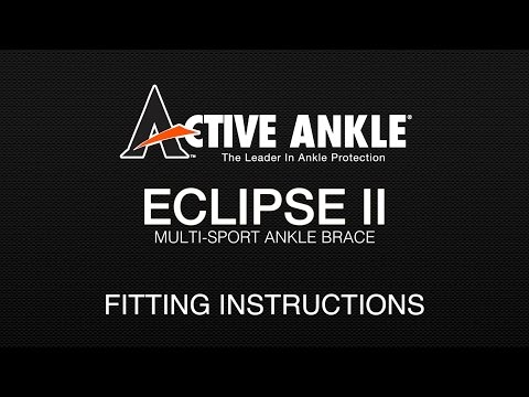 Active Ankle Eclipse II Fitting Instructions