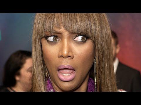 V Banks Model Tyra Banks Talks Top M...