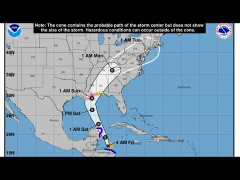 Tropical Storm Nate Could Strike New Orleans as Category 1 Hurricane